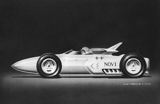The Granatelli's Indy 500 Novi Engines And Stp's. Above Two Of Tremulis' Proposals For The 1964 Studebakernovi Race Cars Left June 4 1963 Rearengined Novi Design Foreshadowed End. Wiring. Novi Race Engine Diagrams At Scoala.co